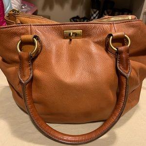 J Crew Leather hobo bag